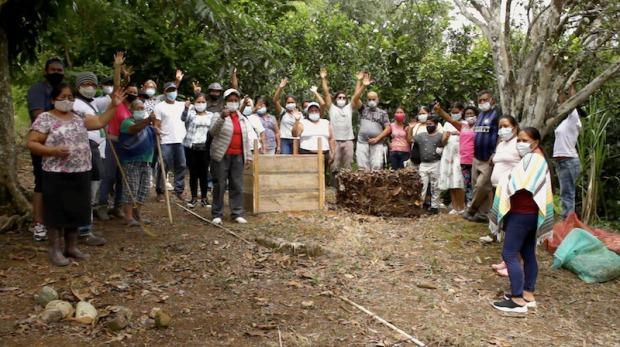 Proyecto Tejiendo Caminos de Paz en Caquetá, Cauca y Putumayo